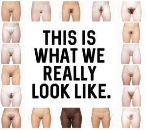 De normale vagina, verschillende vormen en soorten